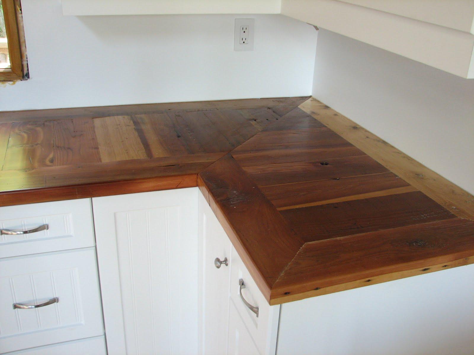 Omega Cabinet Company Prairie Barnwood Countertops