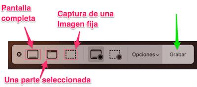 Como grabar la pantalla del Mac