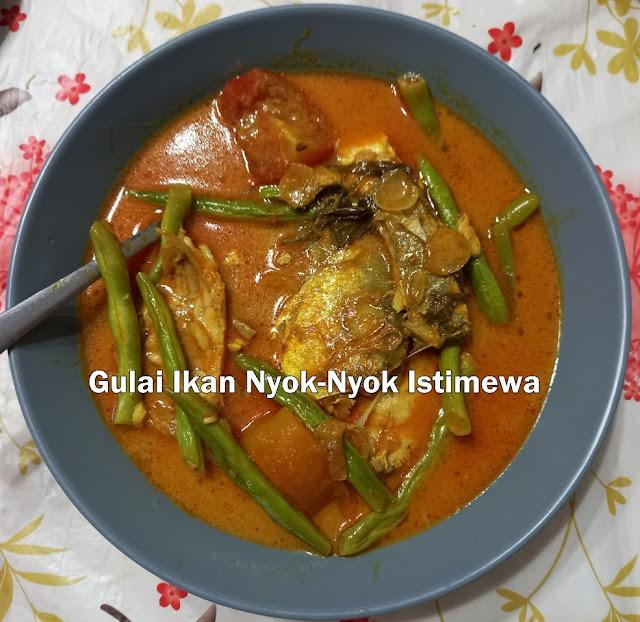 Resepi Gulai Ikan Nyok-Nyok Dapur Umi Fuzy