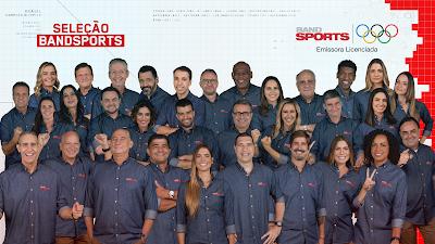 Seleção BandSports: apresentadores e comentaristas vão cobrir Jogos Olímpicos de Tóquio