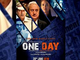 ONE DAY: JUSTICE DELIVERED (2019)'s 720P PREDVD RIP X264 1.2GB AAC