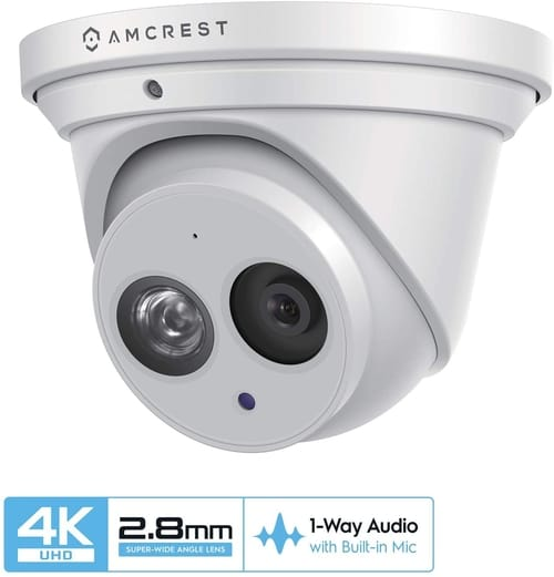 Review Amcrest 8MP 4K UltraHD Outdoor Security Camera