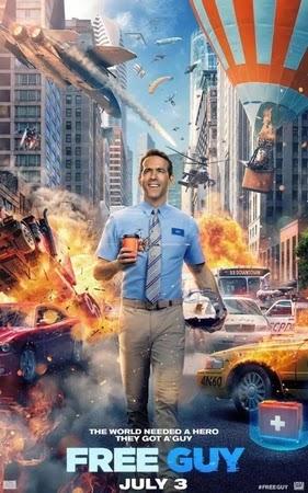 Ryan Reynolds' Third Free Guy Trailer Released
