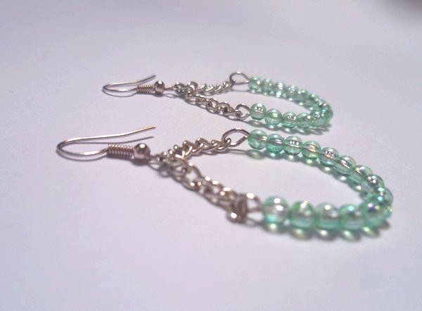 Créoles en perles DIY