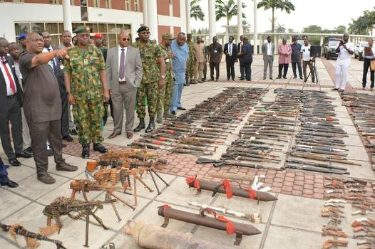 How 22,430 Cultists Surrender 8,572 Arms,147 Explosives As River State Concludes 1st Phase Of Amnesty Programme (Gun Photos)