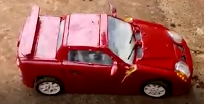 The Car Made By A Student Of John Bosco Institute Of Technology Ondo (Video) - Science/Technology