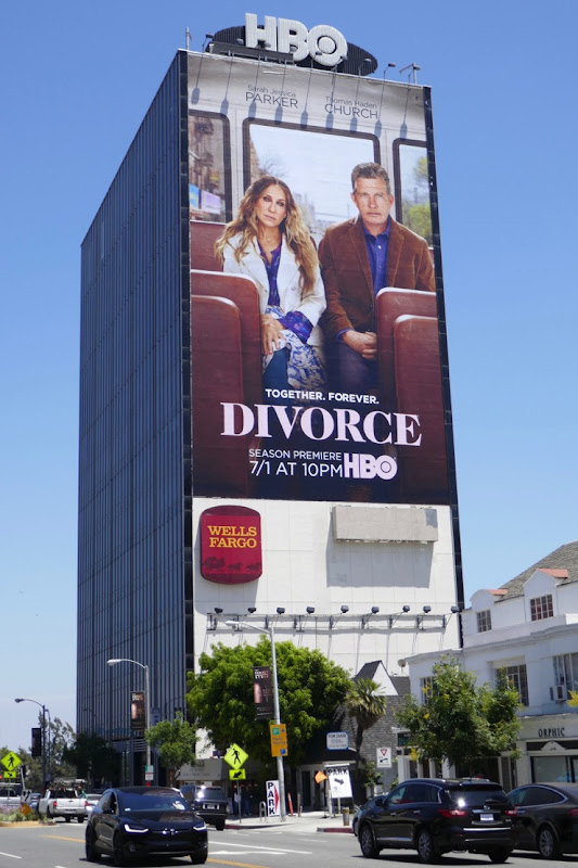 Giant Divorce season 3 billboard