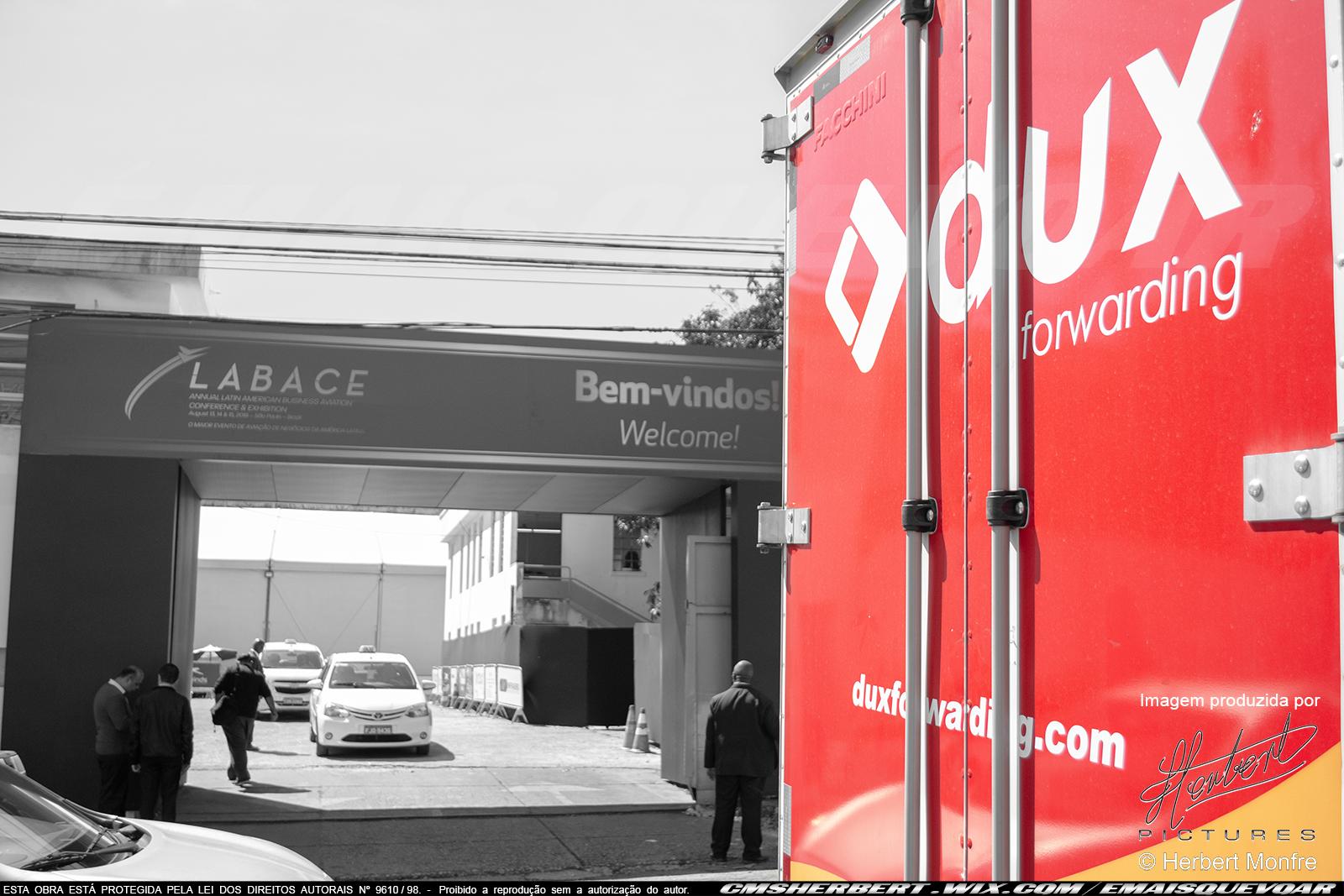 Dux Forwarding na LABACE 2019 | Foto © Herbert Monfre - Contrate o fotógrafo em cmsherbert@hotmail.com | by É MAIS QUE VOAR