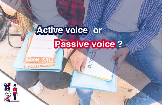 Active or Passive Voice?