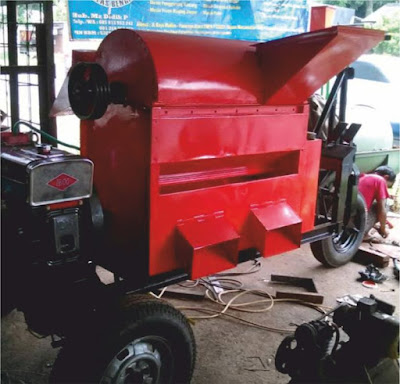 mesin dos padi