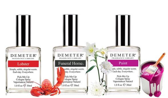 parfum aneh dan unik dengan aroma bau lobster dan juga sushi dan bau cat