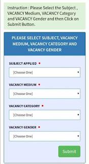 Upper Primary Interview Merit List