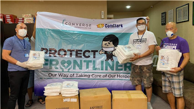 Converge ICT Helps Protect Frontliners