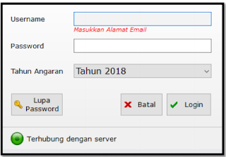 lupa pasword aplikasi RKAS