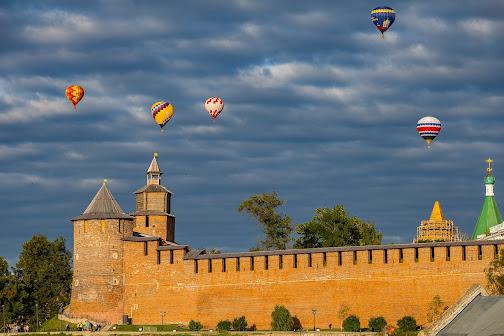 Фестиваль воздушных шаров «Приволжская фиеста»