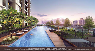 Swimming Pool Permata Hijau Suites