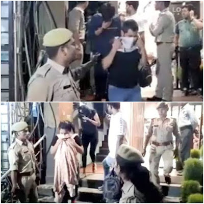 Racket Busted By Delhi Police Illegal Message Parlor Spa Raided
