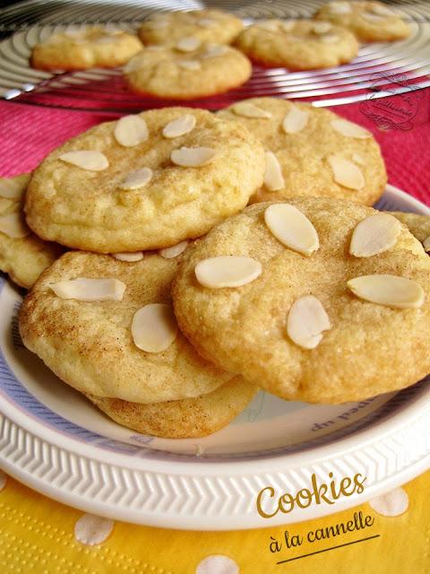 recette de cookies cannelle et cassonade