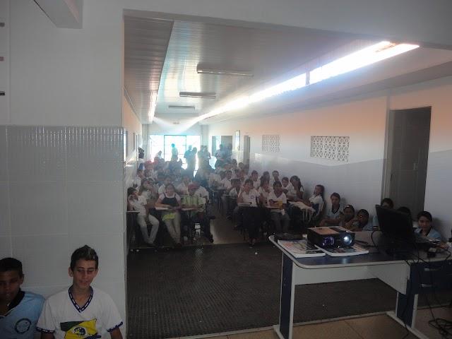 PIBID/CHS realiza comemoração do dia do Estudante na cidade de Amparo