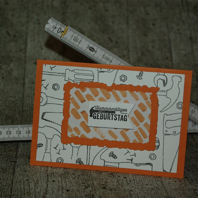 [DIY] Grußkarte für hammermäßige Geburtstagskinder, Handwerkerinnen, Männer, Väter und Holzliebhaberinnen