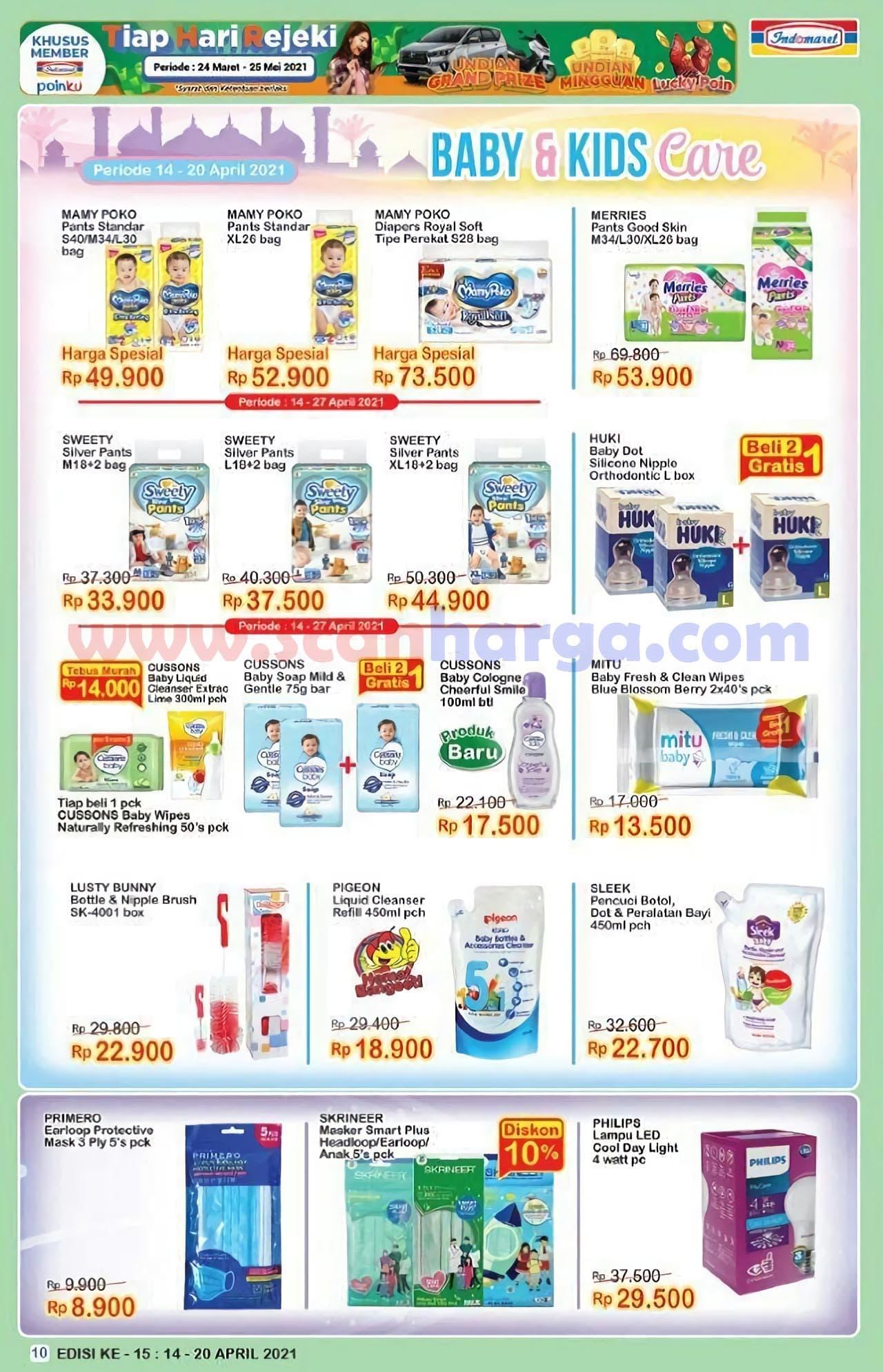 Katalog Indomaret Promo Terbaru 14 - 20 April 2021 10