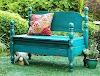 Πως θα φτιάξετε Παγκάκια - Καναπέδες από παλιά Κρεβάτια