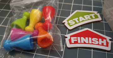 Spintesity 5 second rule game parts pawns and start finish