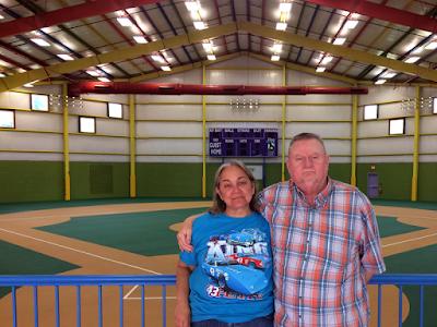 #NASCAR Race Mom with husban Paul on their Victory Junction Tour #NASCAR