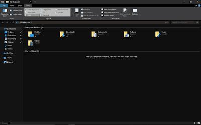 Dark Theme File Explorer