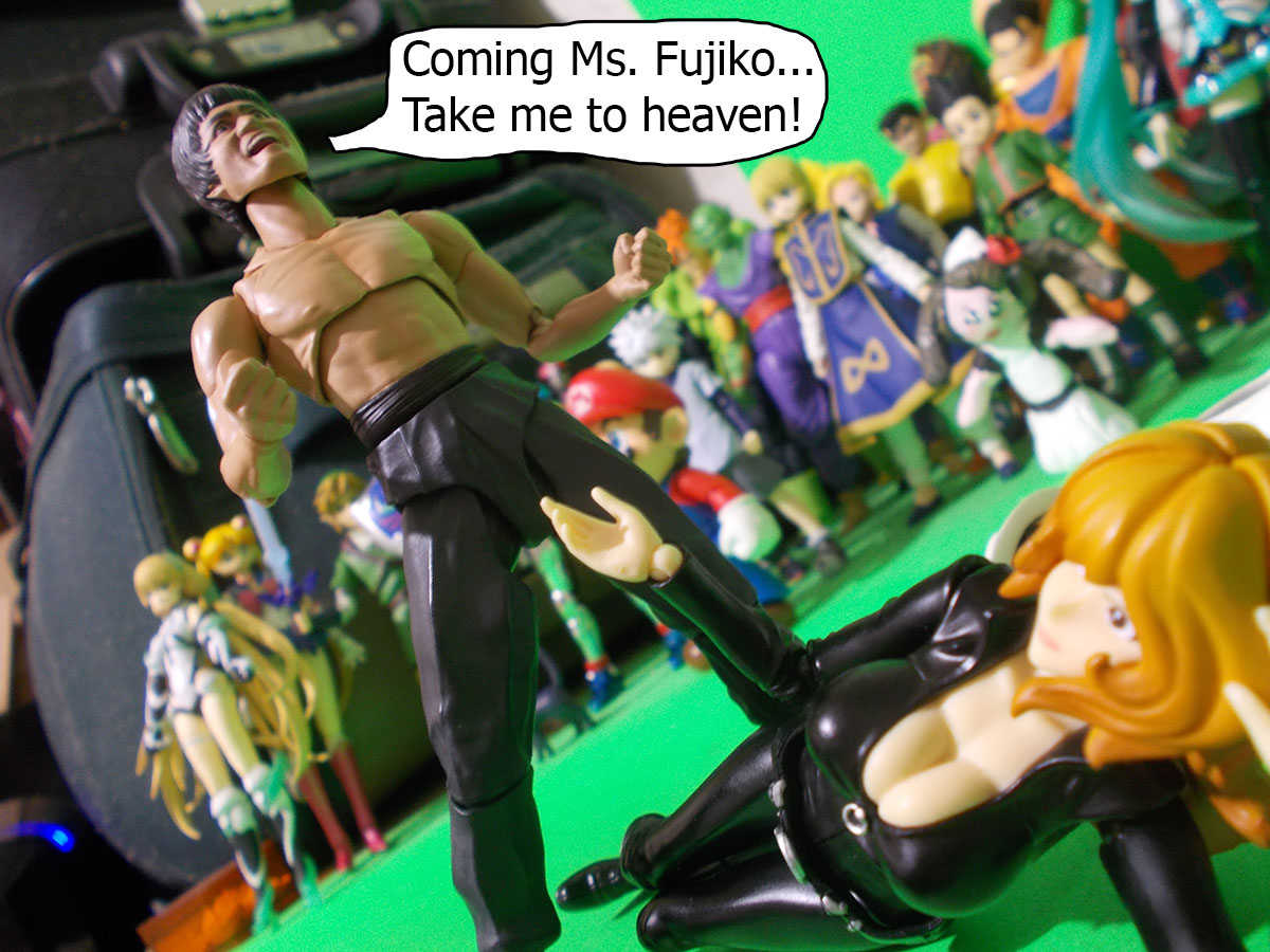 figuarts - Fujiko and the Diamond Bear 68-heaven