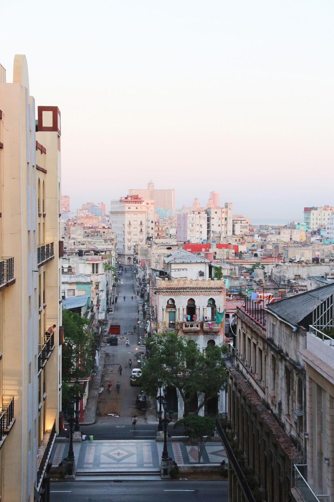 Lever sur soleil sur La Havane