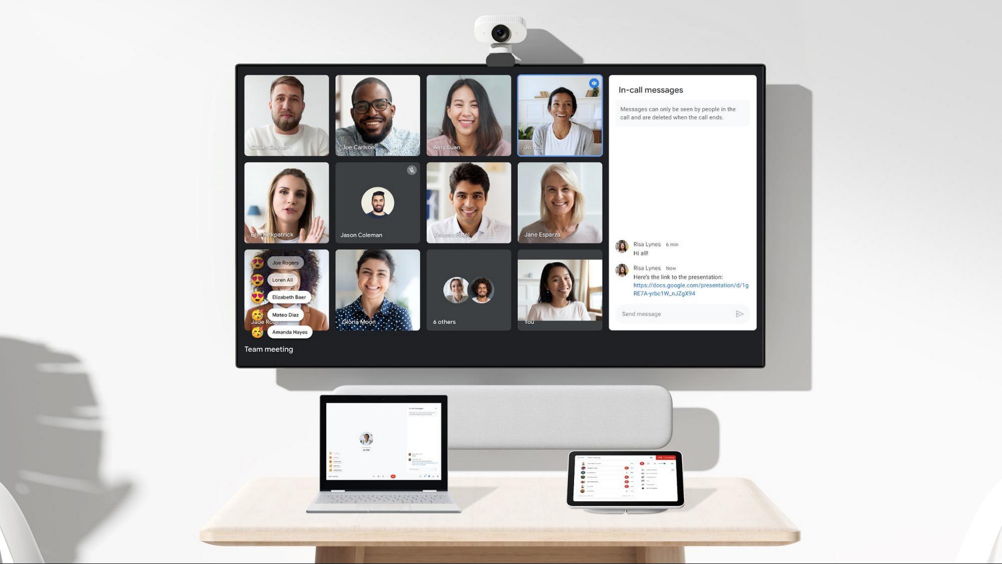 Google annuncia novità per Workspace