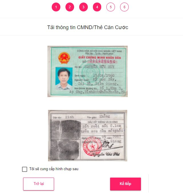 ATM Online : Vay online 3-10 triệu chỉ cần CMND, nhận tiền trong ngày