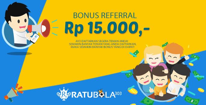 Bonus Refferal 15.000 / Member