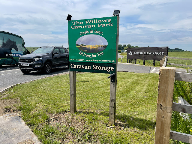 Oasis in time caravan park