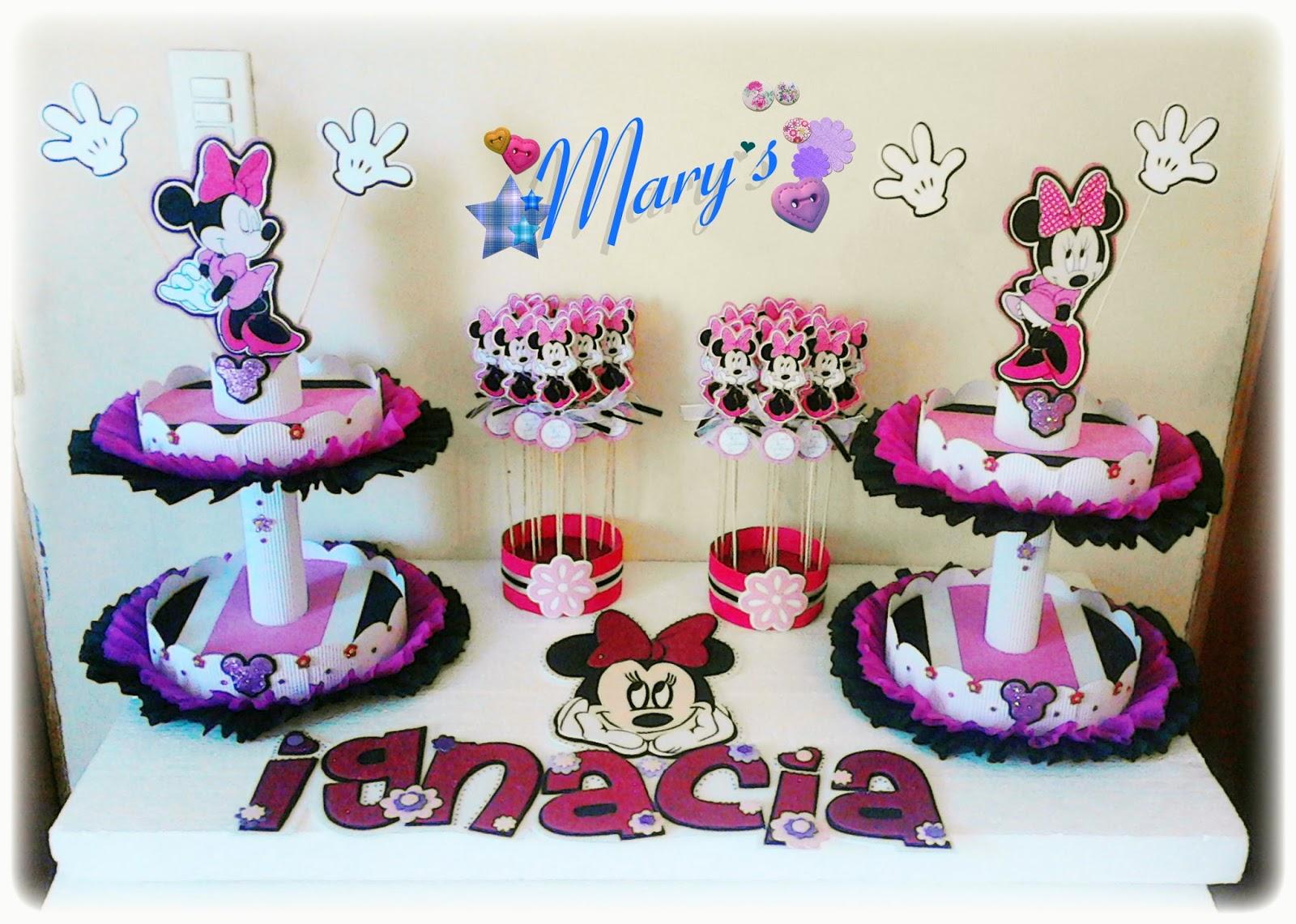 Cumplea os minnie mouse rosa papeletta papeler a creativa - Cumpleanos minnie mouse ...