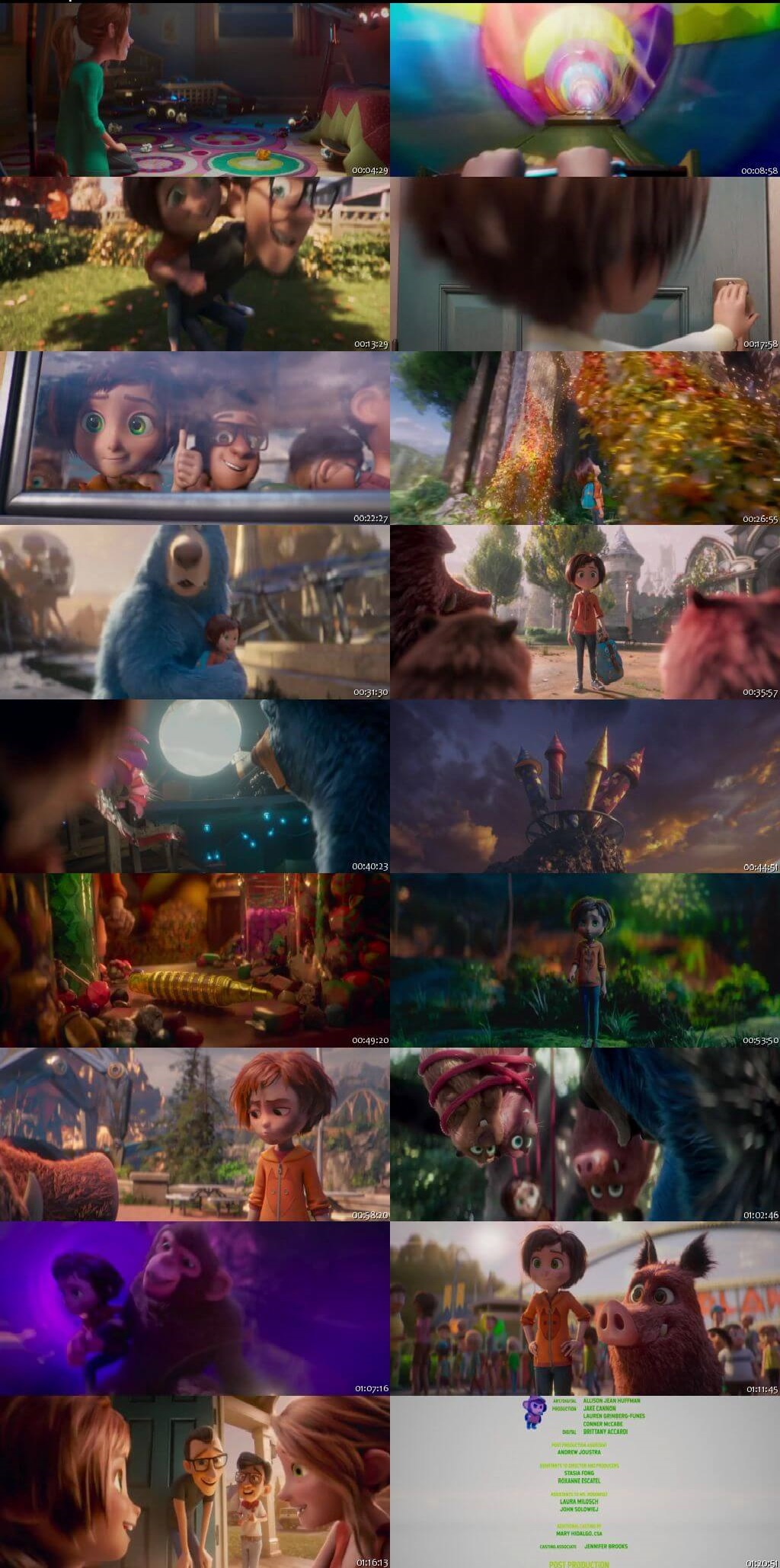 Screen Shot Of Wonder Park 2019 In Hindi English Dual Audio Bluray