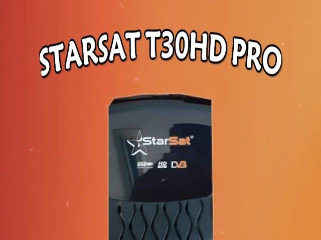 STARSAT T30HD PRO - ستارسات -اجهزة ستارسات