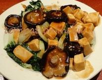 resep tumis egg tofu & jamur shitake