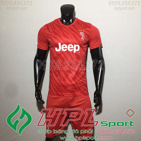 Áo bóng đá câu lạc bộ Juvetus đỏ 2020