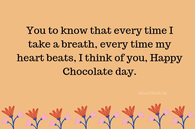 Chocolate Day Wishes, Messages, Status, SMS, Quotes, Greetings.