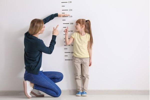 قياس طول الطفل