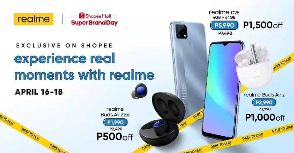 realme C25 and realme Buds Air 2 Series Launch