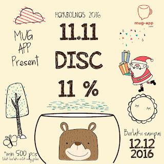 DISCOUNT 11%!! Hari Belanja Online Nasional 2016