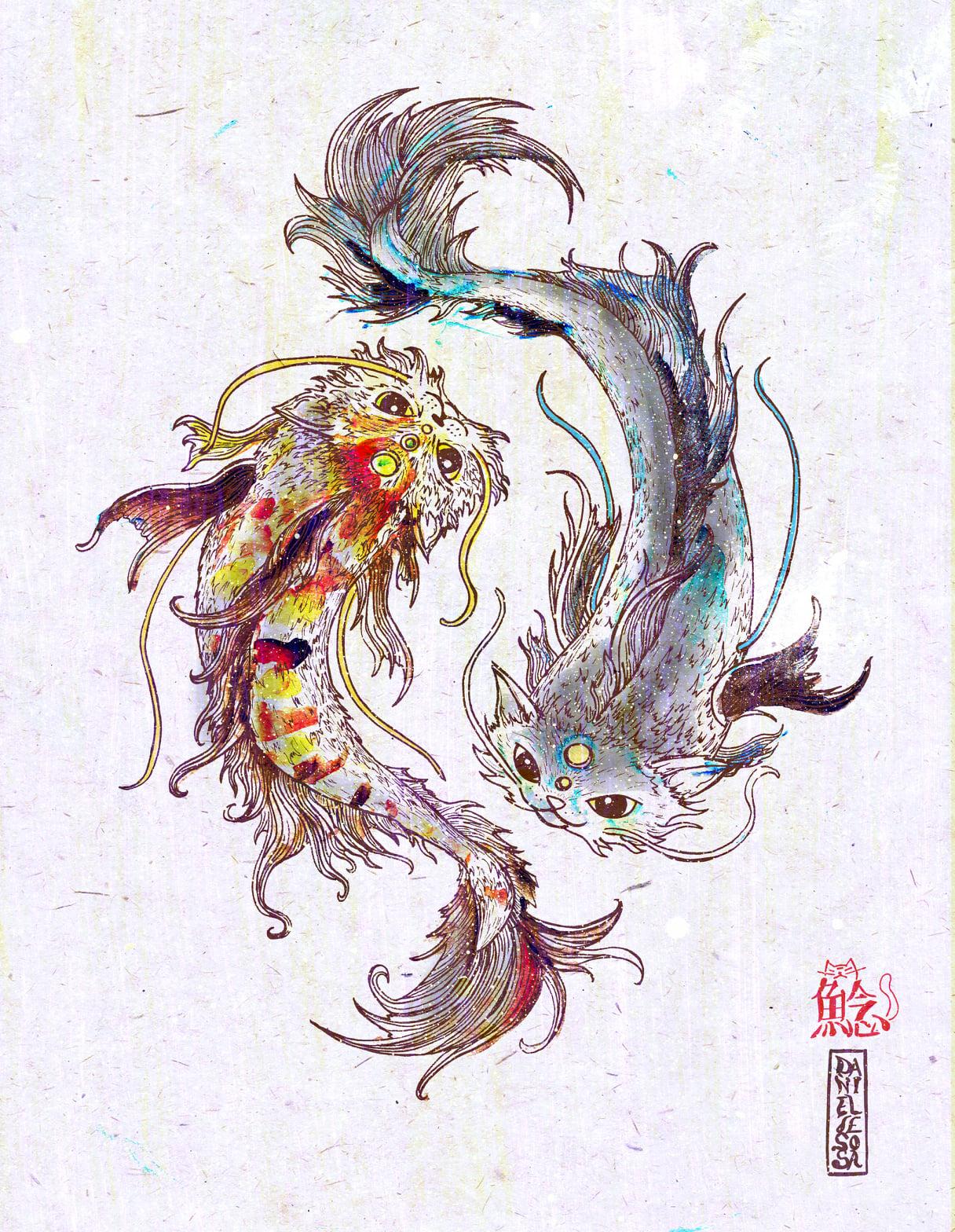 Catfish - Art by OmeowComics - BlogFanArt