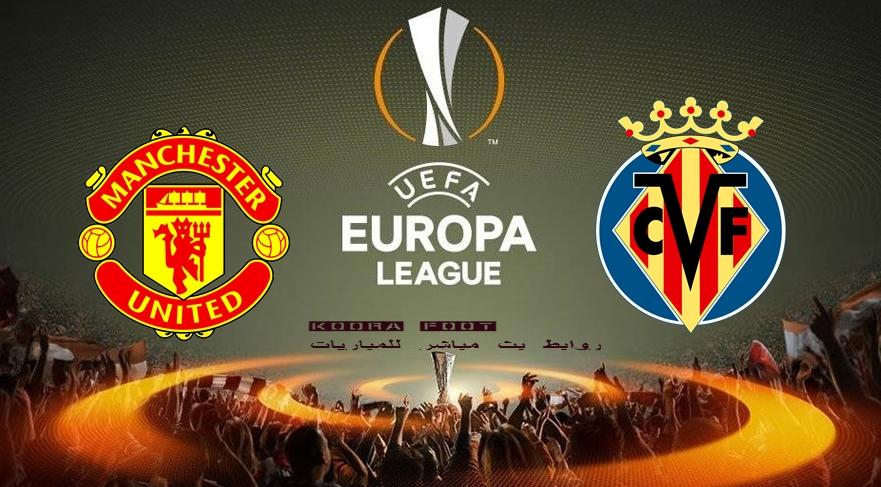 بث مباشر مباراة مانشستر يونايتد وفياريال