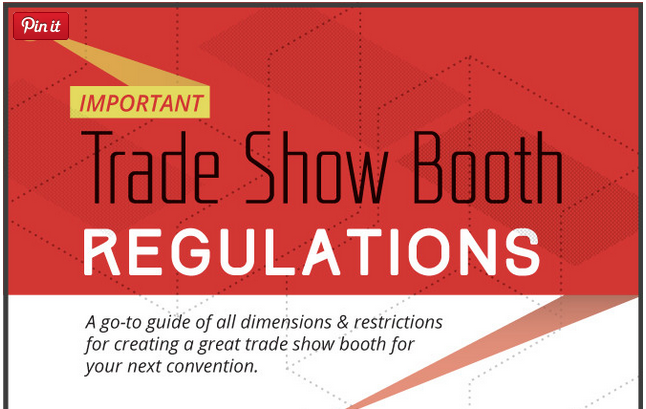 A Helpful Go-To Guide to Trade Show Booth Regulations [Infographic]