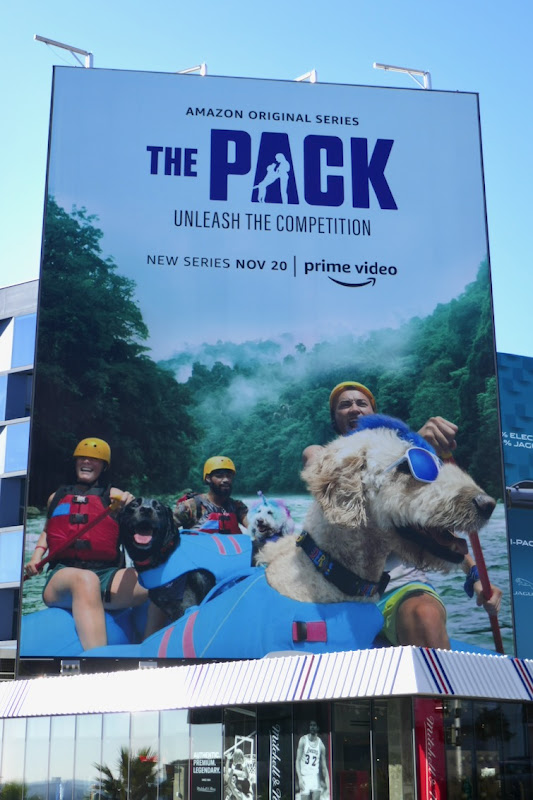 The Pack series launch billboard