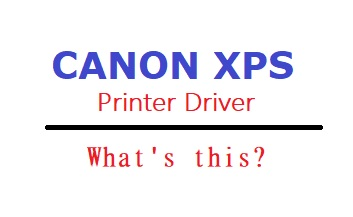 anon XPS Printer Driver