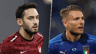 TURQUÍA VS ITALIA POR LA EUROCOPA